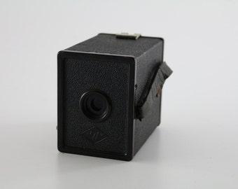 1930s Ansco A8 Cadet Flash - A8 Agfa (127) Film Vintage Box Camera