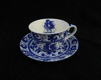 Vintage porcelain Tea Cup and Saucer