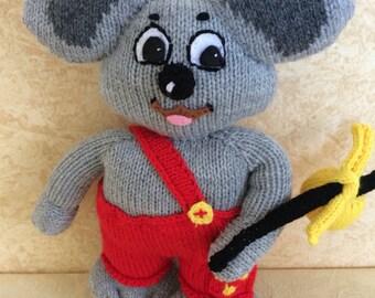 Knitted Blinky Bill
