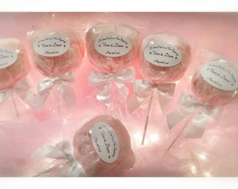 Cotton Candy Pops (dozen)