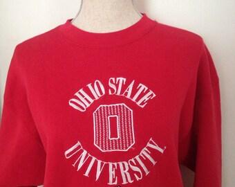 Vintage Ohio State University Sweatshirt