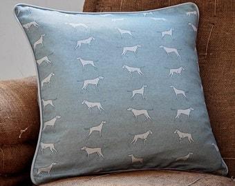 Pointer Dog Cushion - Vizsla Gift - Pointer Gift - Weimaraner Gift - Pillow Cover - Cushion Cover - Housewarming Gift - Thank You Gift