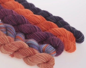 Wool Yarn NEW - Mini Skeins Collection - 'ORURO'