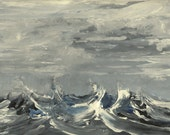 Pacific Swells - Original Acrylic Painting