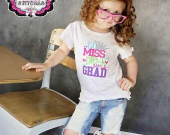 Little Miss Pre-K Grad, Preschool Graduation, Preschool Graduation Gift, Littel Miss Preschool Grad, Preschool Graduation Shirt