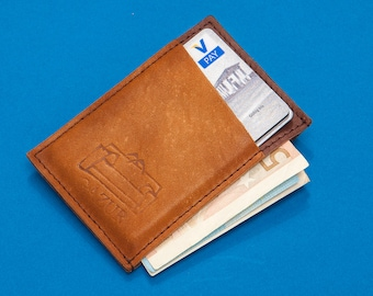 Wallet, Minimalist Wallet, Front Pocket Wallet, Men's Leather Wallet, Mens Wallets