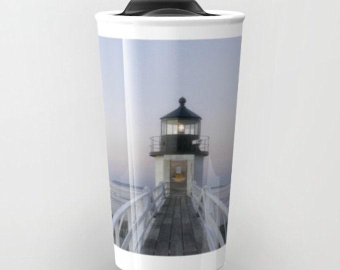 Marshall Point Lighthouse travel mug, Photo Travel Mug, Coffee Mug, Photography, Maine Photography
