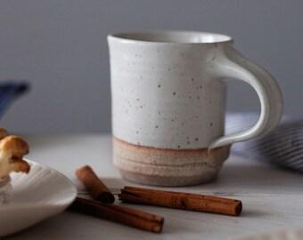 Coffee Mug: Hand thrown, handmade  by Hanselmann Pottery with FREE SHIPPING