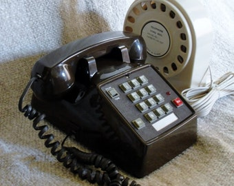 Office or Home Phone with a 50' Reel of extra Telephone Cord