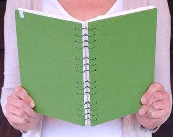 Leafy Green Canvas Watercolor Sketchbook