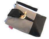 Small Nappy Bag / Diaper Pouch / Baby Changing Bag / Nappy Bag for Men / Baby Boy Gift / New Dad Gift / Dad Bag / Nappy Wipes Case