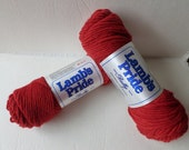 Yarn Sale  -  Ruby Red Lamb's Pride Bulky by Brown Sheep Company