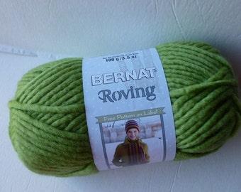 Yarn Sale  - Lime Roving  by Bernat