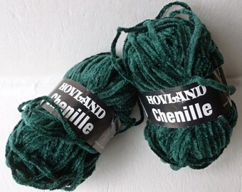 Yarn Sale  - Evergreen 4049 Chenille by Hovland