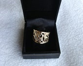 Gold 14K Horse ring