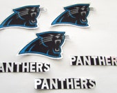 "Carolina Panthers  ""NO SEW"" Appliques"