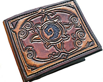 Hearthstone, Leather Wallet,