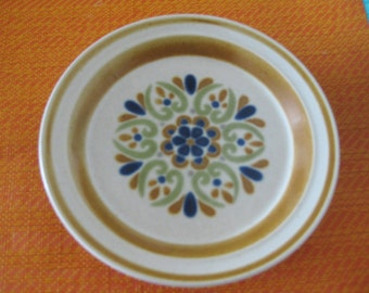 RARE Mikasa Arabesque  Salad  Plate,Only one available in beautiful colors Very good Replacement plate
