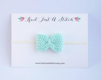 Customizable Classic Crochet Hair Bow