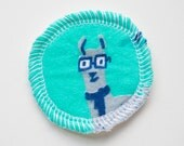 Llama Drama - Menstrual Cup Coaster - Cup Rug - Cup Spot