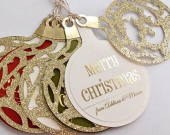 Christmas Gift Tags, Personalized Christmas Gift Tags, Christmas Tags, Personalized Christmas Tags, Custom Christmas Tags, Ornament Tag