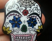 Sugar Skull Hat Pin
