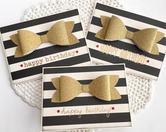 Happy Birthday card set of 3 Sephora inspired