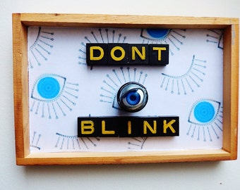 """Dr Who Shadowbox, """"Don't Blink"""" - A Great Christmas Idea!"""