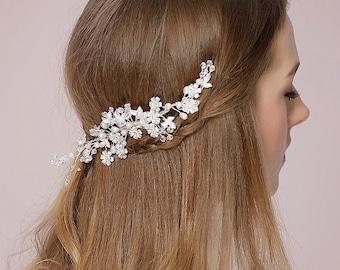 Wedding, Bridal Hair Come, Headpiece, Style 511