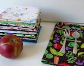 4 reusable napkin for child