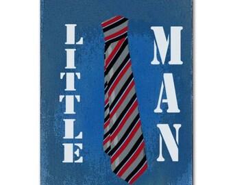 Kids Decor, Boy Nursery Wall Art, Little ManTie Print, Boys room Decor, Art for Children, Boy Nursery Decor, Kids Wall Art, Children Decor