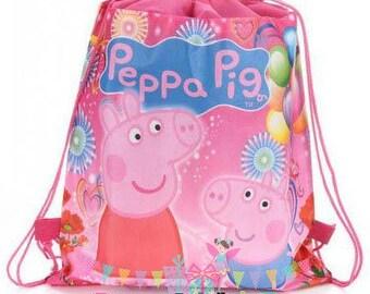 Peppa Pig, Peppa Pig Party Favor,Peppa Pig Goodie Bag, Peppa Pig Treat Bag, Peppa Big Birthday Favors, Goodie Bag, Treat Bags, Favors