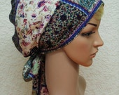 Women's summer head wear, elegant head bandana, bad hair day scarf, tichel, head snood, women's bonnet for long hair, hear scarf, headscarf