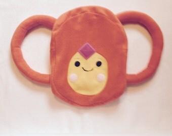 Flame Princess Adventure Time Inspired Fleece Handmade Backpack