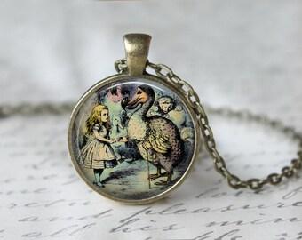 Alice in Wonderland Necklace L23