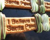 Gourmet Dog Treats - Santa Paws Christmas Bone
