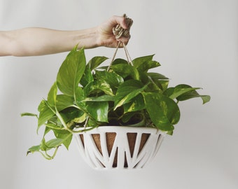 READY TO SHIP - New Vl Hanging Planter