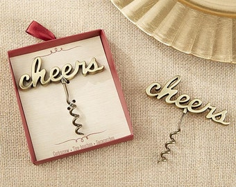 Gold Wedding Favors, Personalized Wedding Favors, Wedding Favors, Anniversary Favors, Wine Openers