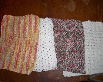 Large Cotton dishcloths