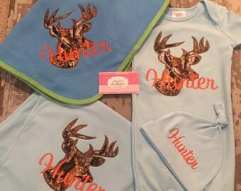 Baby Gift Set boy deer