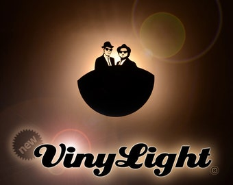 VinyLight Add on lighting system for Vinylovers clocks night light vinyl clock gift
