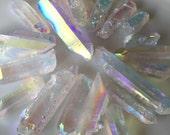Rainbow Angel Aura Quartz Points / Channel higher knowledge / Meditation