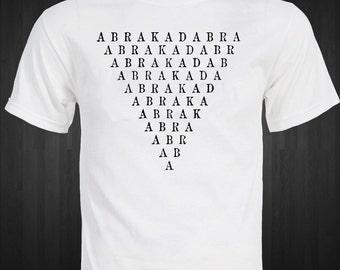 ABRACADABRA - magick - Aleister Crowley - mystic occult unique  T-shirt