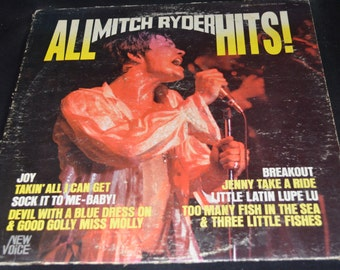 Vintage Record All Mitch Ryder Hits Album 2004-MA