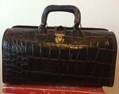Leather Upjohn Doctors Bag