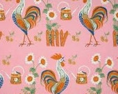 Anna Griffin Gladys Rooster 100% cotton print.  OOP.