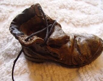 Vintage Novelty Shoe Sculpture
