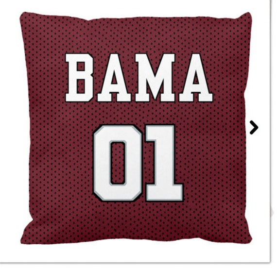 Alabama Crimson Tide Throw Pillows Roll Tide Gift By