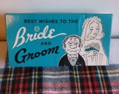 Nailed, Bride and Groom, funny vintage wedding gift