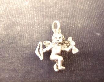 Sterling Silver 3D Jezaline Cupid Charm C20